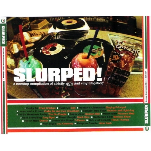 Various - Slurped! Original Brainfreeze Flavors Volume 1 - CD - Compilation