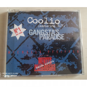 Coolio Featuring L.v. - Gangsta's Paradise - CD Maxi Single - CD - Single