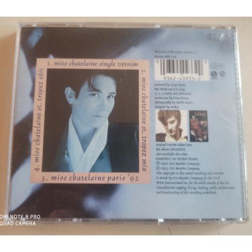 K.d. Lang - Miss Chatelaine - CD Single - CD - Single