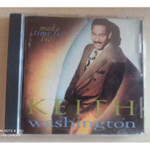 Keith Washington - Make Time For Love - CD - CD - Album
