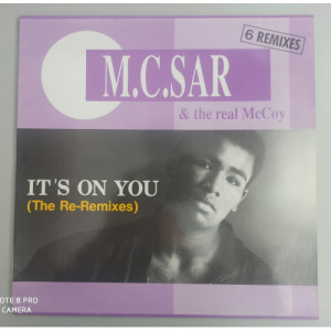 """M.c. Sar & The Real Mccoy - It's On You - 12 - Vinyl - 12"""""""