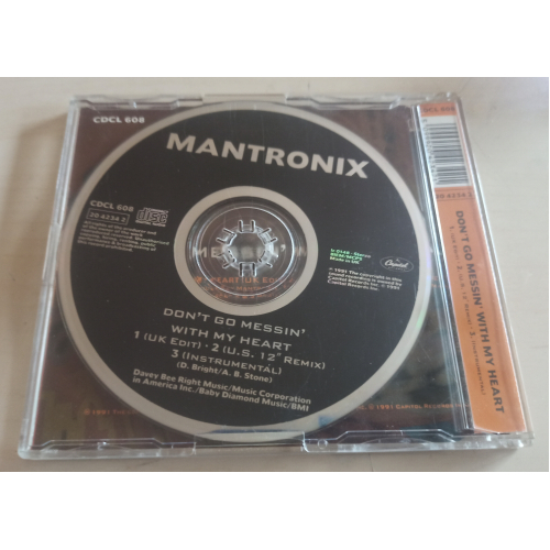 Mantronix - Don't Go Messin' With My Heart - CD Maxi Single - CD - Single