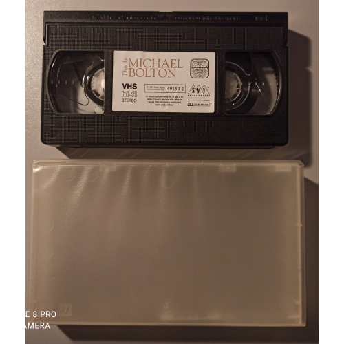 Michael Bolton - This Is Michael Bolton - VideoPAL - VHS - VHS