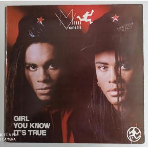 "Milli Vanilli  - Girl You Know It's True - 12 - Vinyl - 12"""