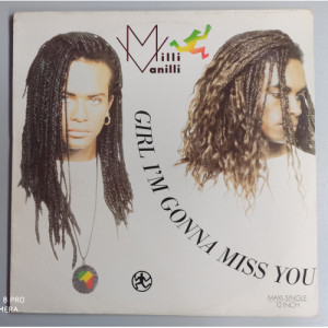 "Milli Vanilli - Girl I'm Gonna Miss You - 12 - Vinyl - 12"""