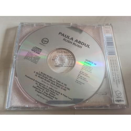 Paula Abdul - Rush Rush - CD Single - CD - Single