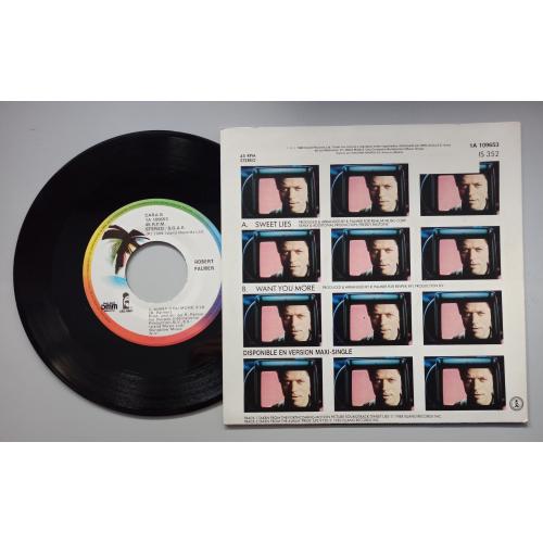 """Robert Palmer - Sweet Lies - 7 - Vinyl - 7"""""""