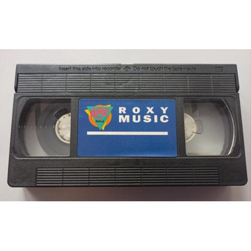 Roxy Music - The High Road Vídeo - VideoPAL - VHS - VHS