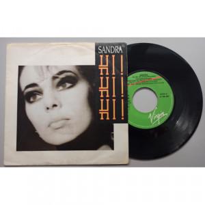 """Sandra - Hi! Hi! Hi! - 7 - Vinyl - 7"""""""