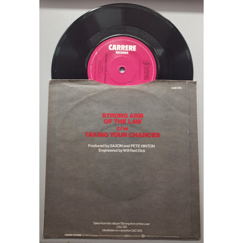 """Saxon - Strong Arm Of The Law - 7 - Vinyl - 7"""""""