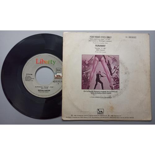 """Sheena Easton - Solo Para Sus Ojos - 7 - Vinyl - 7"""""""