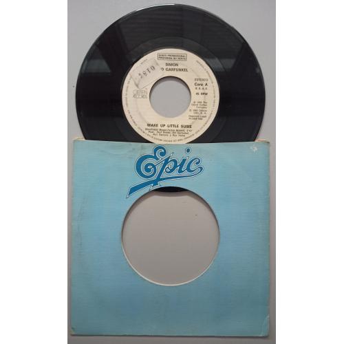 "Simon & Garfunkel - Wake Up Little Susie / Bridge Over Troubled Water - 7 - Vinyl - 7"""
