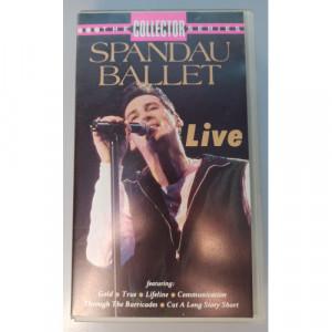 Spandau Ballet  - Live - VideoPAL - VHS - VHS