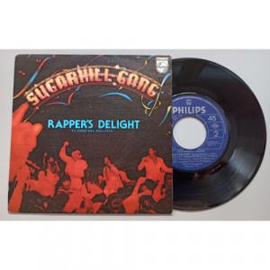 """Sugarhill Gang - Rapper's Delight = El Gozo Del Rollista - 7 - Vinyl - 7"""""""