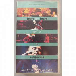 Tears For Fears - Going To California - VideoPAL - VHS - VHS