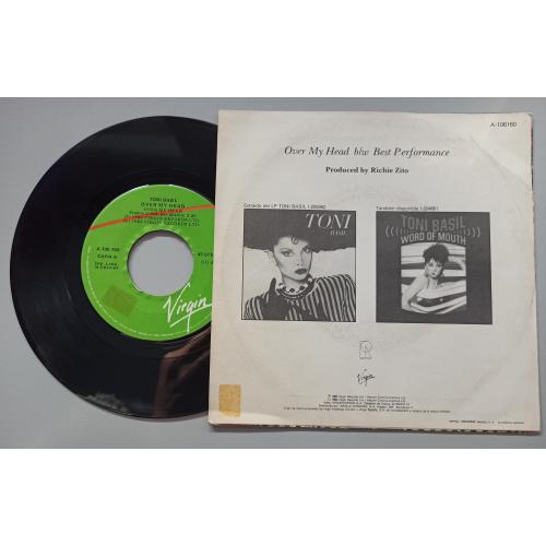 "Toni Basil - Over My Head - 7 - Vinyl - 7"""