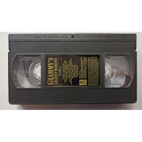 Various - Grammy's Greatest Moments - Volume Ii - VideoPAL - VHS - VHS