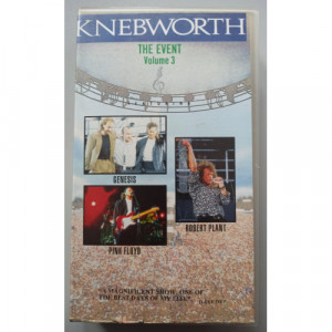 Various - Knebworth The Event Volume 3 - VideoPAL - VHS - VHS