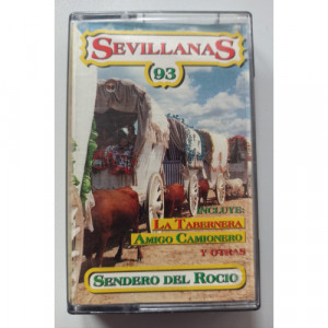 Various - Sevillanas '93 - Cassette - Tape - Cassete