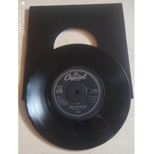 """Wings - Mull Of Kintyre / Girls School - 7 - Vinyl - 7"""""""