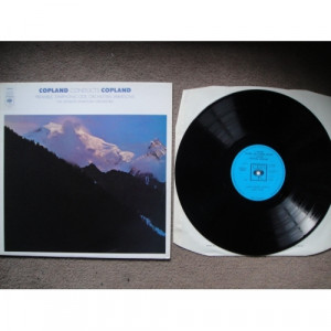 COPLAND, Aaron - Symphonic Ode; Preamble; Orchestral Variations - Vinyl - LP