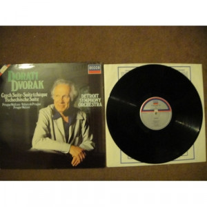 DVORAK, Antonin - Czech Suite; Prague Waltzes etc - Vinyl Record - LP