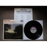BRITTEN, Benjamin - The Canticles