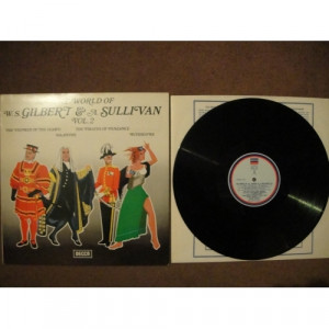 Gilbert & Sullivan - The World Of W S Gilbert & A Sullivan - Volume 2 - Vinyl - LP