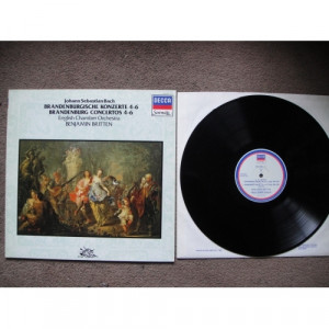 BACH, Johann Sebastian - Brandenburg Concertos 4, 5 & 6 - Vinyl - LP