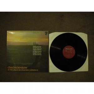 BACH, Johann Sebastian - Charles Benbow Plays Bach At Chartres Cathedral - Vinyl - LP