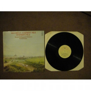 BEETHOVEN, Ludwig van - Symphonies Nos 1 & 2 - Vinyl Record - LP