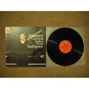 SCHUMANN, Robert - Carnaval; Papillons; Toccata - Vinyl Record - LP