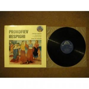 PROKOFIEV, Sergei / RESPIGHI, Ottorino - Symphony-Concerto; Adagio Con Variazioni - Vinyl - LP