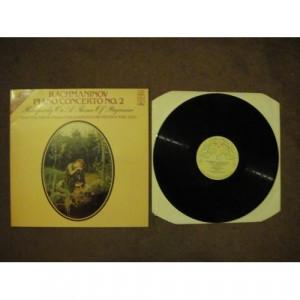 RACHMANINOV, Sergei - Piano Concerto No 2; Rhapsody On A Theme Of Paganini - Vinyl - LP