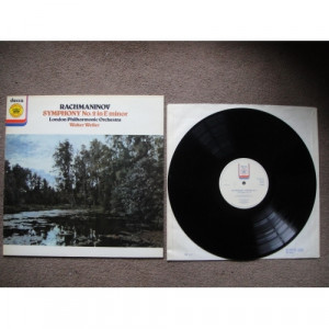 RACHMANINOV, Sergei - Symphony No 2 In E Minor, Op 27 - Vinyl Record - LP