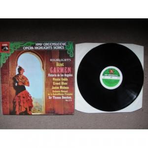 BIZET, Georges - Carmen (Highlights) - Vinyl Record - LP