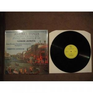 VIVALDI, Antonio - Concerti For Bassoon, Strings & Harpsichord - Vinyl - LP