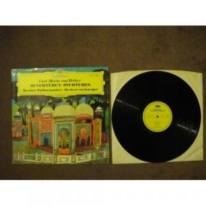 WEBER, Carl Maria von - Overtures - Vinyl - LP