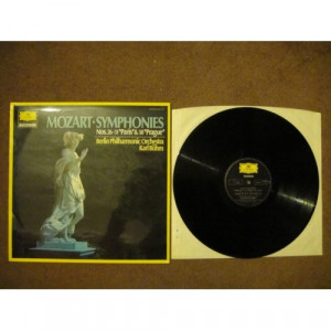 MOZART, Wolfgang Amadeus - Symphonies Nos 26, 31 & 38 - Vinyl - LP