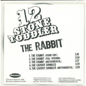 12 stone toddler - the rabit ACETATE CD - CD - CDr