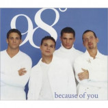 98 Degrees - Because Of You PROMO CDS