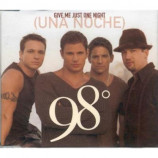 98 Degrees - Give Me Just One Night (Una Noche) PROMO CDS