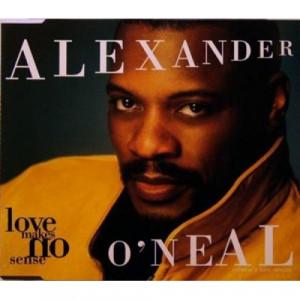 Alexander O'Neal - Love Makes No Sense CDS - CD - Single
