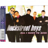 Backstreet Boys - All I Have To Give CDS
