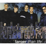 Backstreet Boys - Larget Than Life PROMO CDS