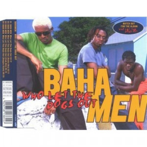 Baha Men - Who Let The Dogs Out PROMO CDS - CD - Album