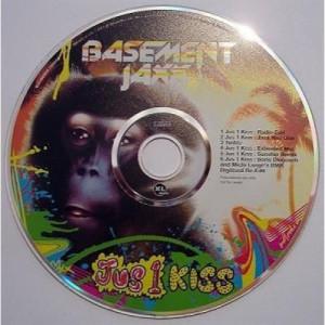 Basement Jaxx - Jus 1 Kiss PROMO CDS - CD - Album