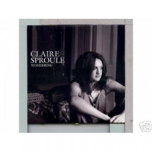 Claire Sproule - Wondering Euro promo CD - CD - Album
