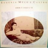 Eugenia Melo e Castro - Amor e Cego E Vao LP