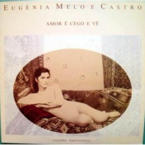 Eugenia Melo e Castro - Amor e Cego E Vao LP - Vinyl Record - LP